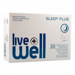 LIVE WELL SLEEP PLUS kapsulas, 30 gab.