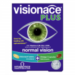 VITABIOTICS VISIONACE PLUS, 28 tabletes un 28 kapsulas, 56 gab.