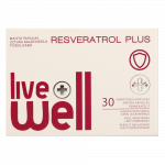 LIVE WELL RESVERATROL PLUS капсулы, 30 шт.