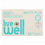 LIVE WELL BACTO PLUS pulveris, 16 paciņas