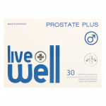 LIVE WELL PROSTATE PLUS капсулы, 30 шт.