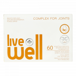LIVE WELL COMPLEX FOR JOINTS kapsulas, 60 gab.