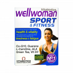 WELLWOMAN SPORT & FITNESS tabletes, 30 gab.