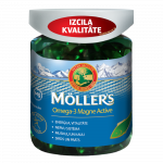 MOLLERS OMEGA-3 MAGNE ACTIVE капсулы, 100 шт.