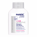 NUMIS MED šampūns jutīgai galvas ādai SENSITIVE STRESS RELIEF, pH 5.5, 200 ml