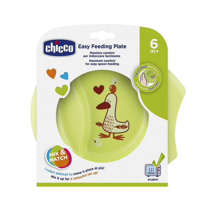CHICCO bļoda EASY FEEDING, 6m+, 1 gab.