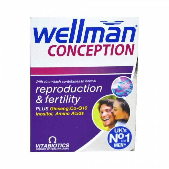 WELLMAN CONCEPTION tabletes, 30 gab.
