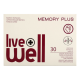 LIVE WELL MEMORY PLUS kapsulas, 30 gab.